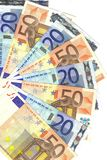 20 en 50 euro Stock Foto's