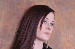 20 etwas Einjahresfrauportrait Lizenzfreie Stockbilder