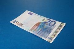 20 euro Royalty-vrije Stock Afbeeldingen