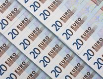 20 EURO bill Stock Image
