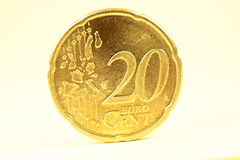 20 euro cent Stock Photos