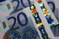 20 Euro Money Stock Photos