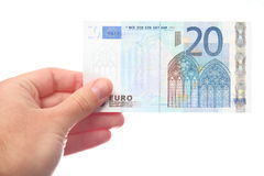 20 euros Stock Images