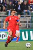 20 fifa意大利下瑞士与 免版税库存图片