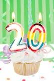 20. Geburtstag Lizenzfreie Stockfotos