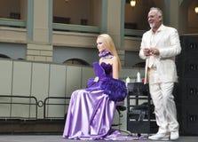 20 hairdresses конкуренции составляют Стоковое Изображение