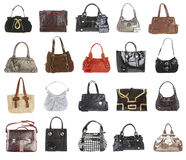 20 Handbags Stock Image