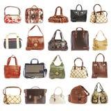 20 Handtaschen Stockbild