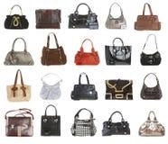 20 handväskor Fotografering för Bildbyråer