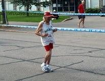 20 kilometer race går Royaltyfria Bilder