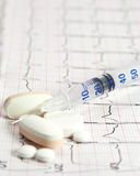 20 Maßeinheiten Insulin Lizenzfreie Stockfotografie