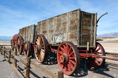 20 Mule Team Wagon Royalty Free Stock Photography