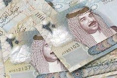 20 notas des Bahrein del dinar Imágenes de archivo libres de regalías