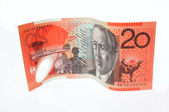 $20 note Stock Photography