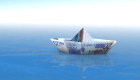 20 łodzi euro Obraz Stock