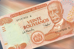 20 pesos bolivianos obrazy stock