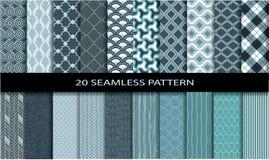 Free 20 Seamless Patterns Stock Photography - 48506372