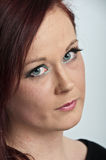 20 something good looking female portrait Royalty Free Stock Photography