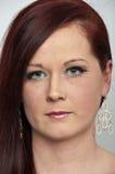 20 something good looking female portrait Stock Images