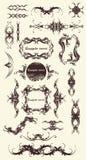 20 vectorornamenten stock illustratie