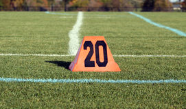 The 20-Yard Line Stock Photo