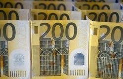 200欧元 免版税图库摄影