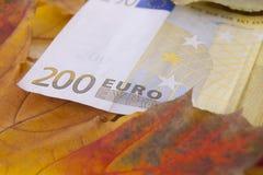 200 ευρώ Στοκ Εικόνες