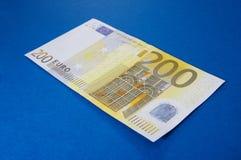 200 ευρώ Στοκ φωτογραφία με δικαίωμα ελεύθερης χρήσης