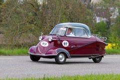 200 1956年汽车kr messerschmitt葡萄酒 免版税库存照片