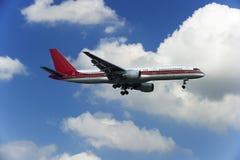 200 757 flygplan boeing Arkivfoto