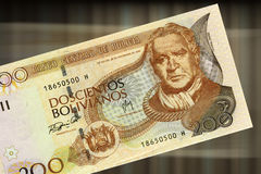 200 bolivianos Stock Photography