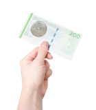 200 couronnes danoises Photos libres de droits