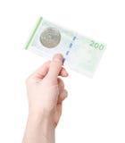 200 danska kroner Royaltyfria Foton