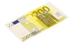 200 euro bankbiljet Stock Foto's