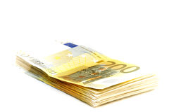 200 euro notes Images libres de droits