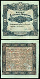 200 hryvnia 1918 Stock Images