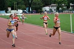 200 meters dash Royalty Free Stock Images