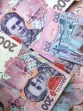200 Oekraïense hryvnia stock foto