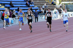 200 pojkeräkneverk race Royaltyfria Bilder
