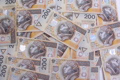 200 polish zloty Stock Photos