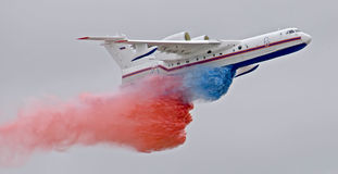 -200 vliegtuig (2) Stock Foto's