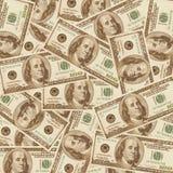 2000年背景美元 库存图片