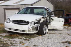 2000 Ford Taurus Wreck stock image