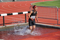2000 Meter Steeplechase Royalty Free Stock Photo