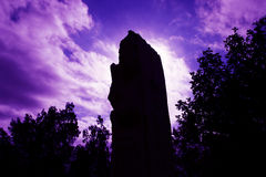 2000 years Monolith at Mount Nebo, Royalty Free Stock Image