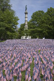 20000 amerikanska flaggan Arkivfoton