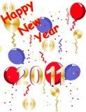 2001 szczęśliwych nowy rok Fotografia Stock