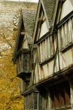 中世纪大阳台 免版税库存图片