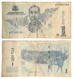 2002 gammala år för georgian pengar Fotografering för Bildbyråer