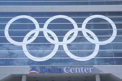2002 Olympische Winterspiele Stockfotografie